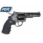 Револьвер ASG Dan Wesson 4'' Black, 4,5 мм