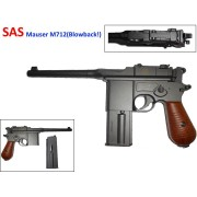 Пистолет SAS Mauser M712 Blowback!